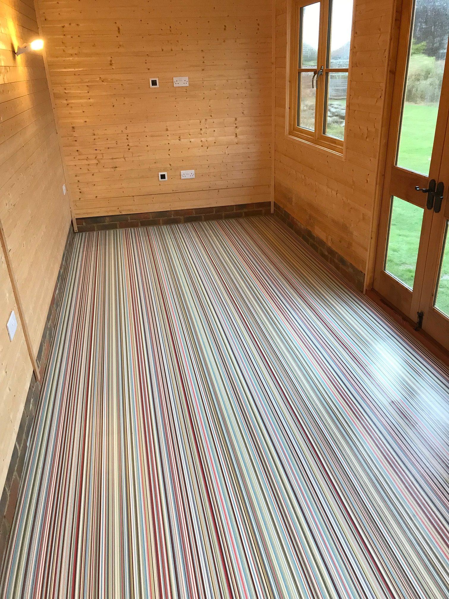 Garden Office Haywards Heath Mid Sussex Flooring